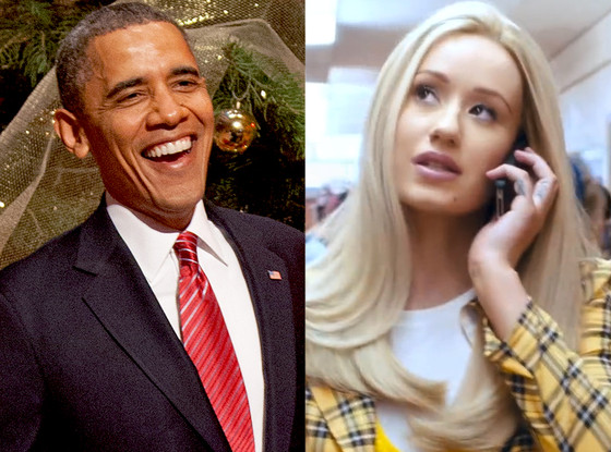 Iggy Azalea, Barrack Obama, Fancy