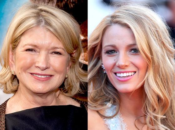 Blake Lively, Martha Stewart