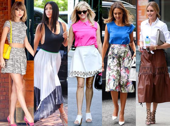 Reese Witherspoon, Kim Kardashian, Olivia Palermo, Taylor Swift, Jessica Alba