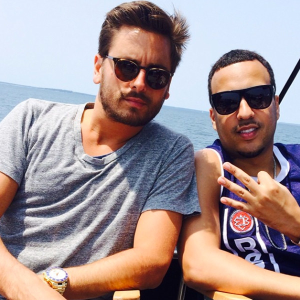 French Montana, Scott Disick, Instagram