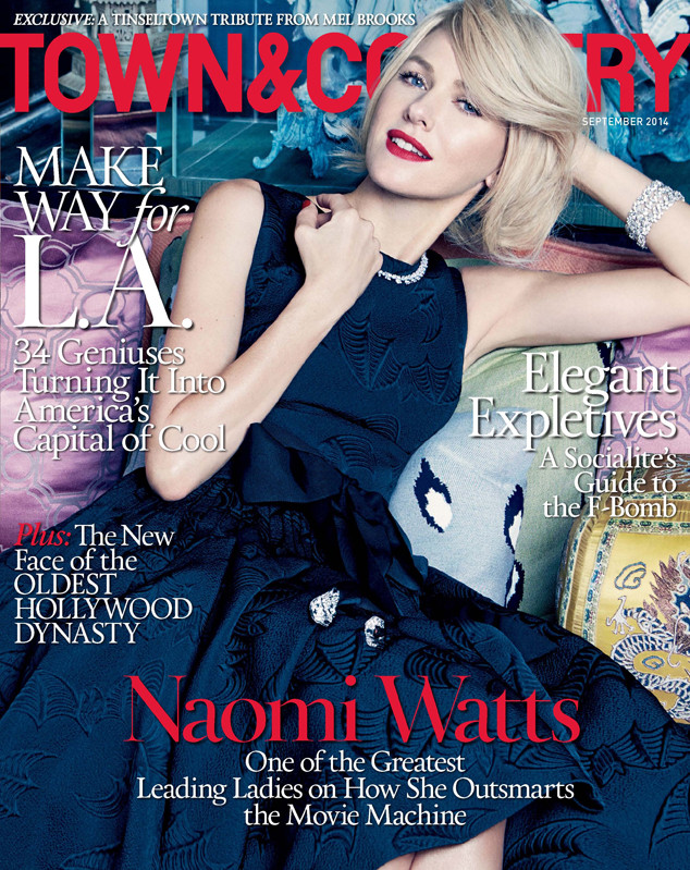 Naomi Watts, Town & Country