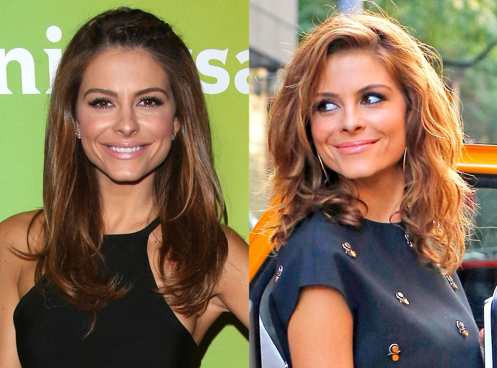 Maria Menounos, Hair