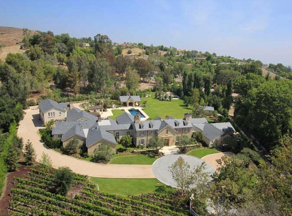 Kim kardashian and kanye west home