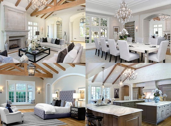 Inside Kim Kardashian and Kanye West\'s $20 Million Dream House—See ...