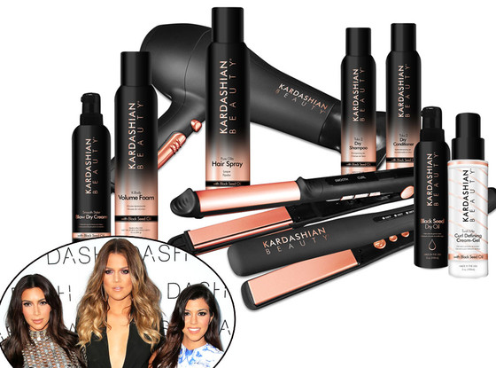 Kardashian Hair Care, Kourtney Kardashian, Khloe Kardashian, Kim Kardashian