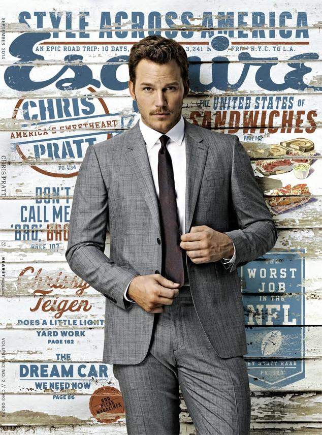 Chris Pratt, Esquire
