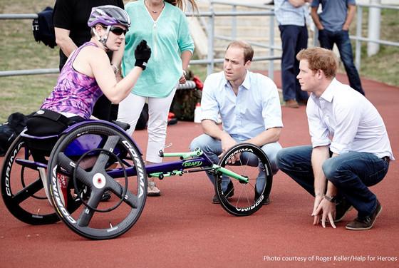 Prince Harry, Prince William, Invictus Games