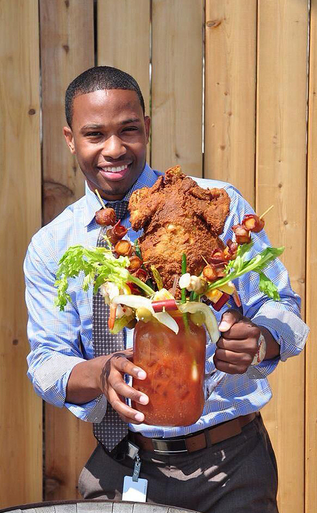 Sobelman's Chicken Fried Bloody Mary