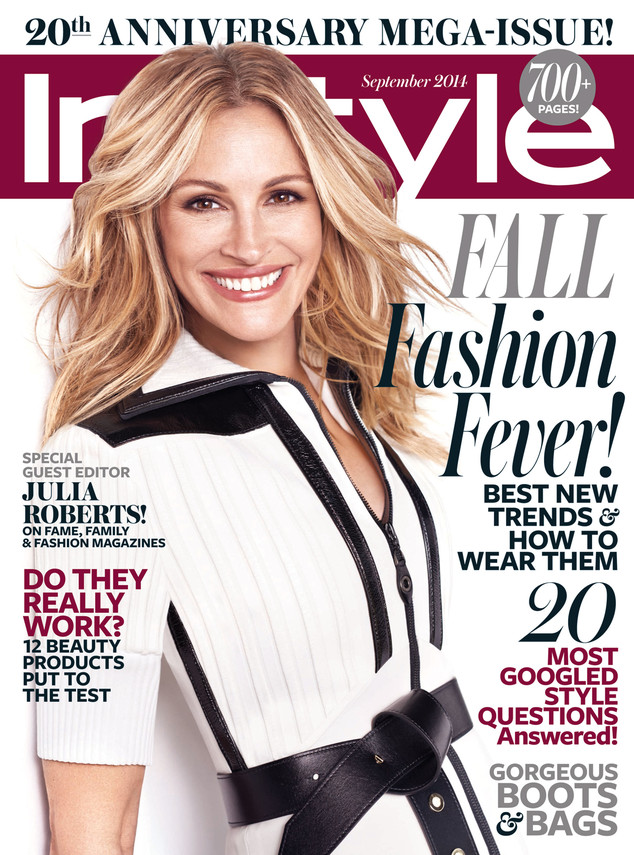 Julia Roberts, InStyle Magazine