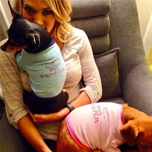Carrie Underwood, Pregnant