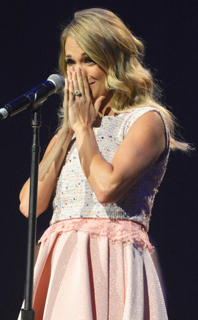Possible Carrie underwood is chubby