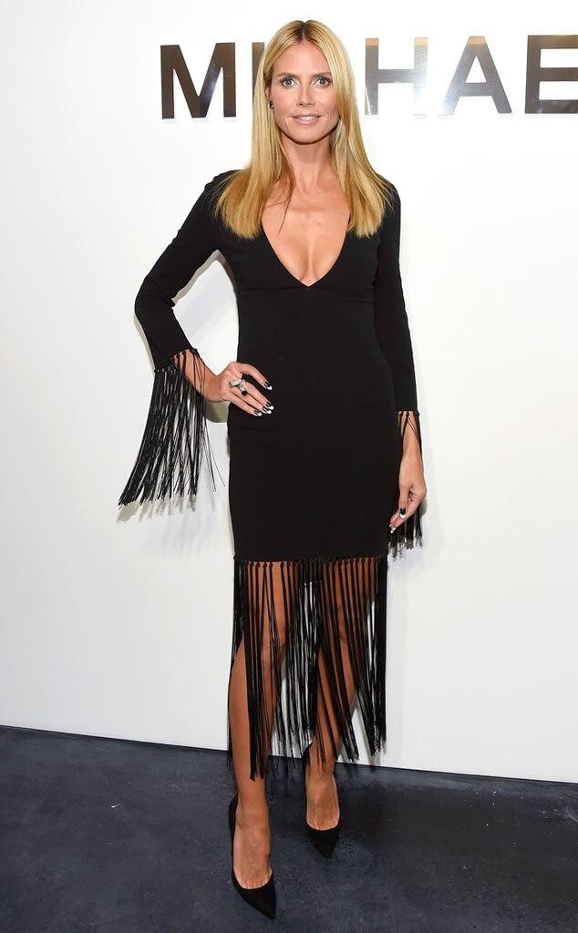 Heidi Klum, New York Fashion Week, NYFW