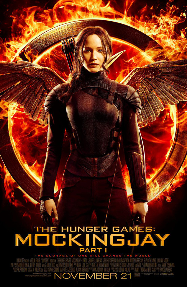 Jennifer Lawrence, Mockingjay, Hunger Games