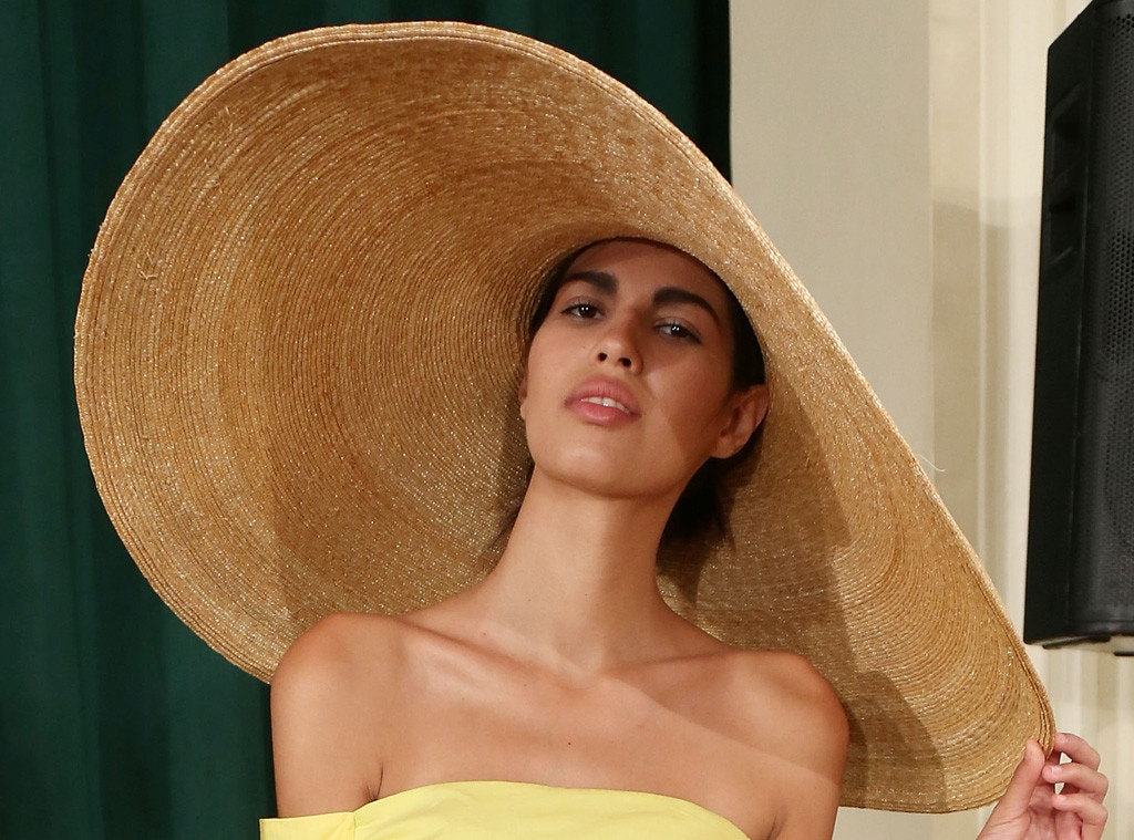 Straw Hat Rosie Assoulin