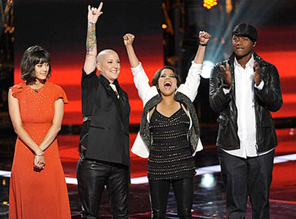 The Voice, Javier Colon, Dia Frampton, Beverly McClellan, Vicci Martinez