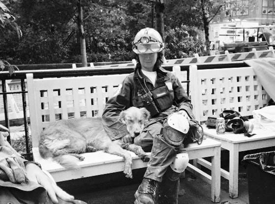 Bretagne, 9/11 Rescue Dog