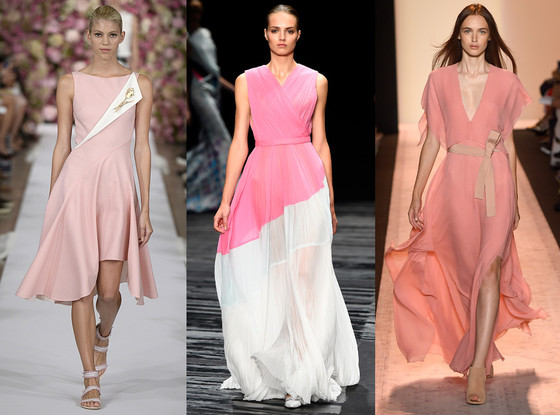 Biggest Colors of NYFW, New York Fashion Week, Light Rose