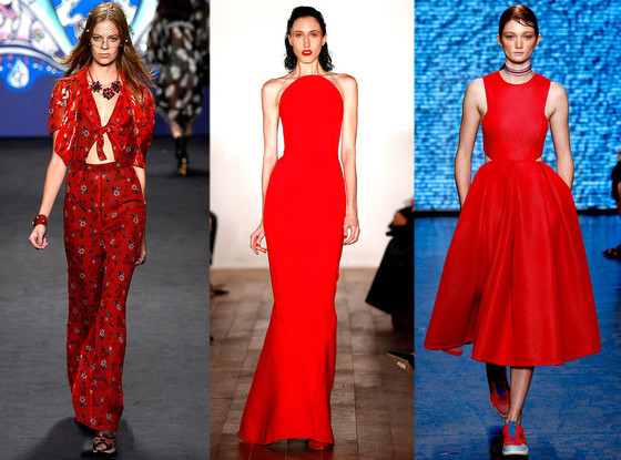 Biggest Colors of NYFW, New York Fashion Week