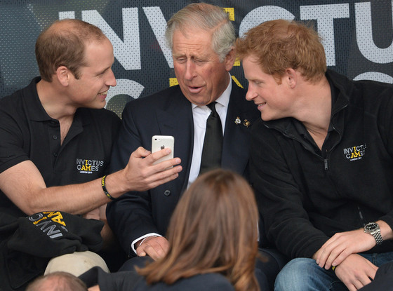 Prince William, Prince Charles, Prince Harry