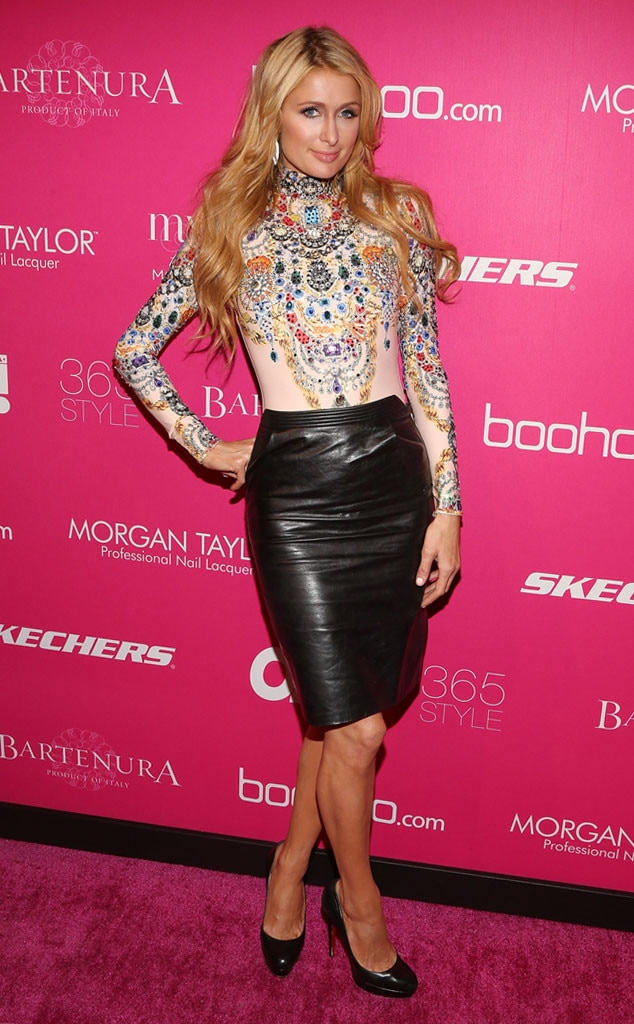 Paris Hilton, New York Fashion Week, NYFW