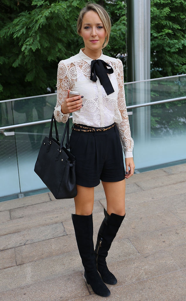 Mary From New York Fashion Week Spring 2015 Street Style E News Uk