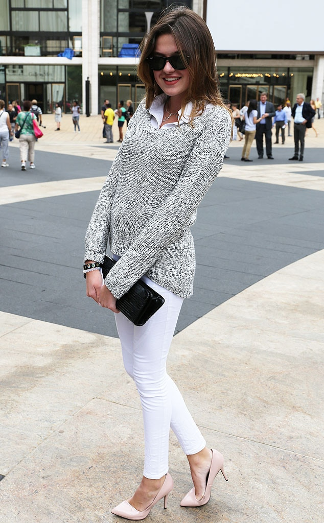 Emily From New York Fashion Week Spring 2015 Street Style