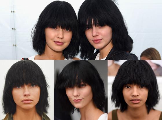 Kendall Jenner, Gigi Hadid, Adriana Lima, Karlie Kloss, Marc Jacobs NYFW