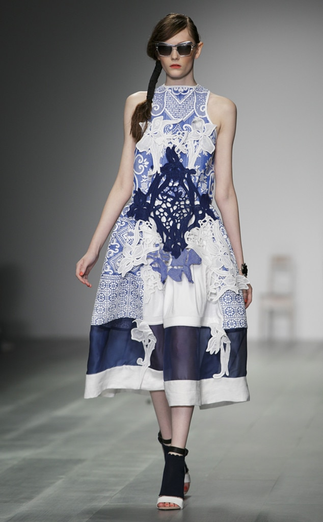 Bora Aksu From 100 Best Fashion Week Looks From All The Spring 2015 Collections E News Uk