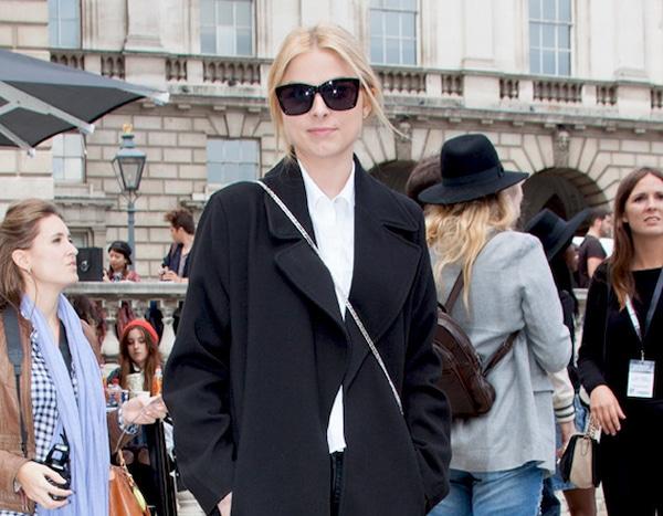Adriana Wodzinska From Street Style London Fashion Week Spring 2015 E News