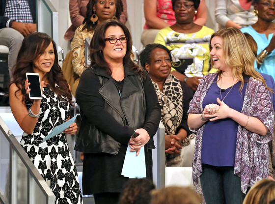 The View, Rosie Perez, Rosie O'Donnell