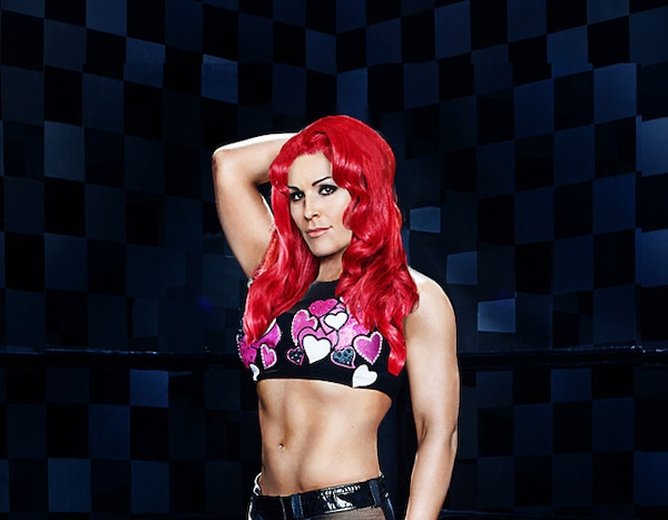 Nattie from the total divas with eva marie 39 s red hair - Fashion diva tv ...