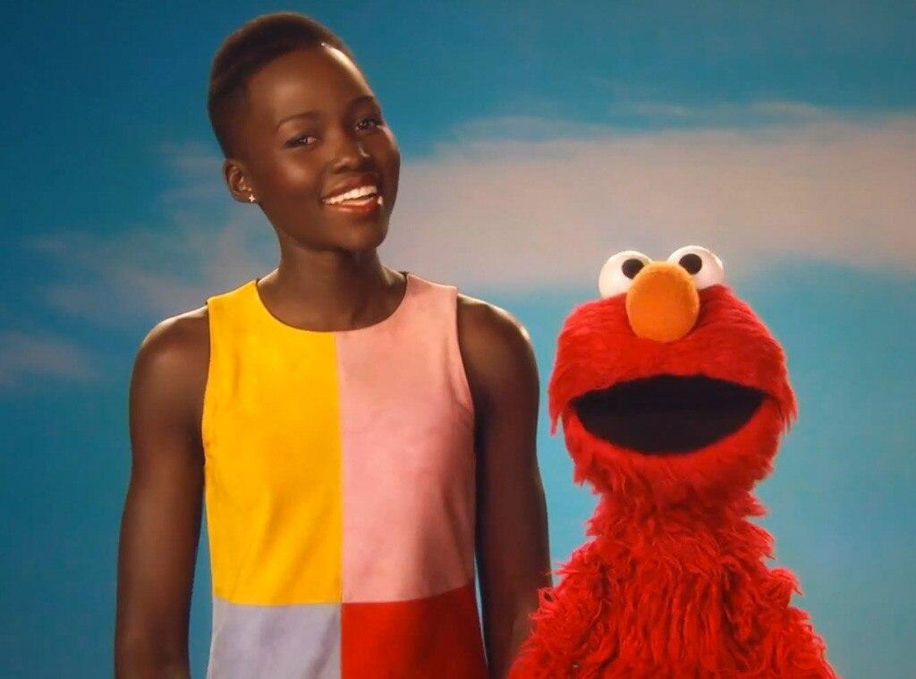 Elmo, Sesame Street, Lupita Nyong'o
