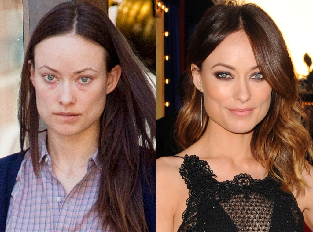 Olivia Wilde From Stars Without Makeup  E News-1406