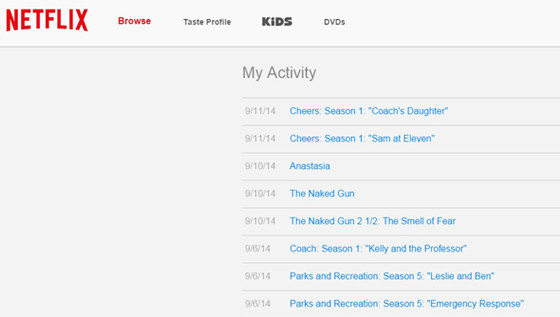 Netflix Is Finally Letting You Delete Your Viewing History