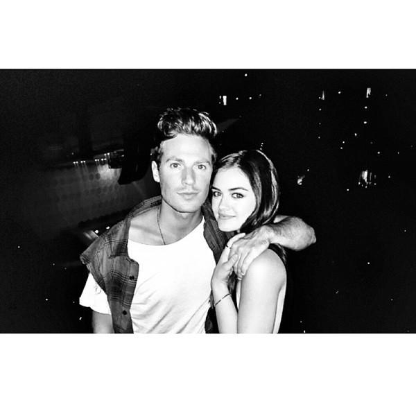 Lucy Hale, Adam Pitts, Instagram