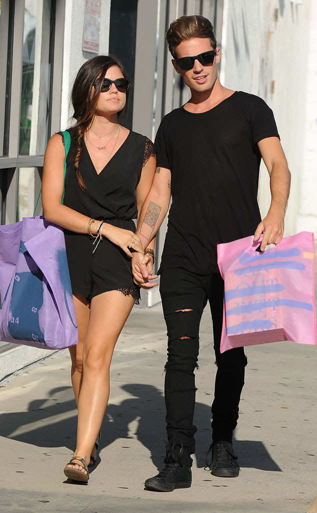 Lucy Hale, Adam Pitts