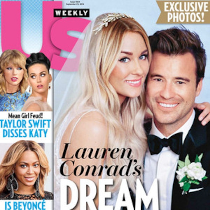 Lauren Conrads Badgley Mischka Wedding Dressall The Details E News
