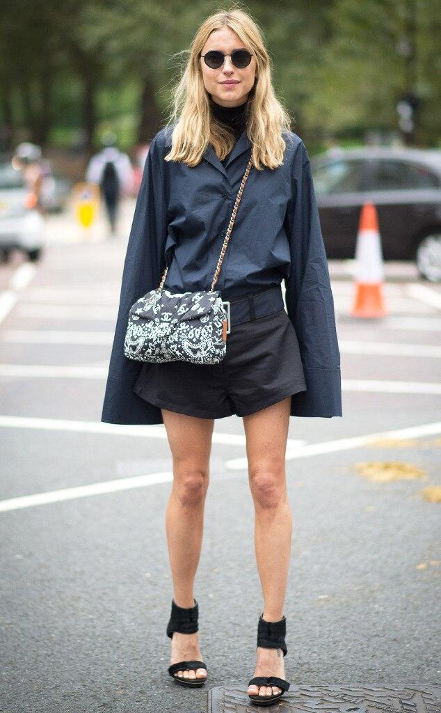 Pernille Teisbaek From Street Style London Fashion Week Spring 2015 E News