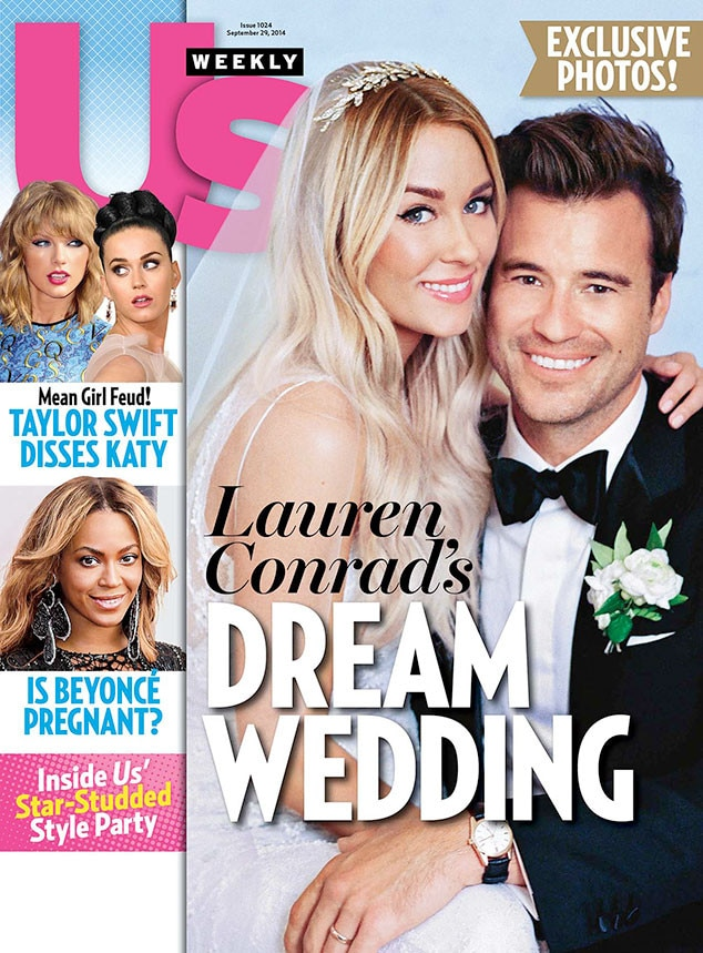 Lauren Conrad, William Tell, Wedding, US Weekly