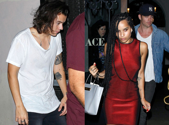 Harry Styles, Zoe Kravitz, Chris Pine