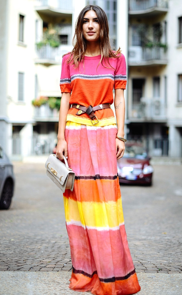 Patricia Manfield From Street Style Milan Fashion Week Spring 2015 E News