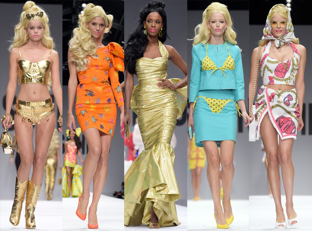 Moschino Barbie, Milan Fashion Week