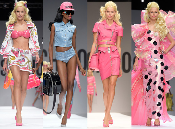 Moschino Barbie, Milan Fashion Week