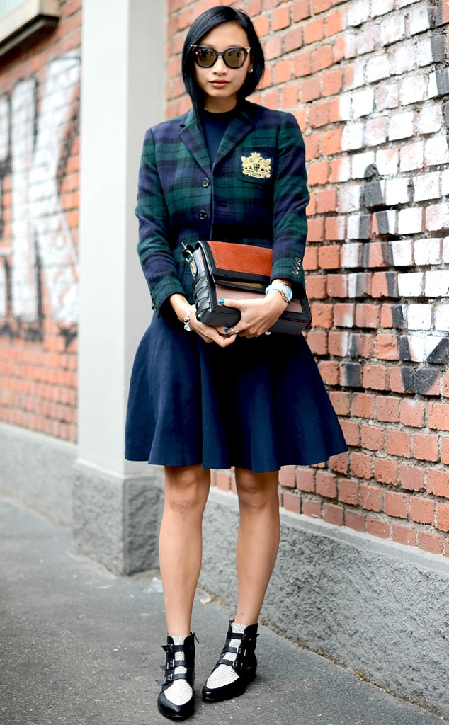 Cively Ko From Street Style Milan Fashion Week Spring 2015 E News