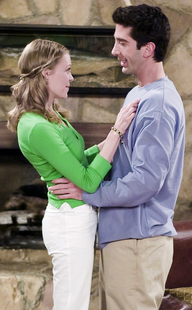 Ross and Elizabeth, Friends Couples