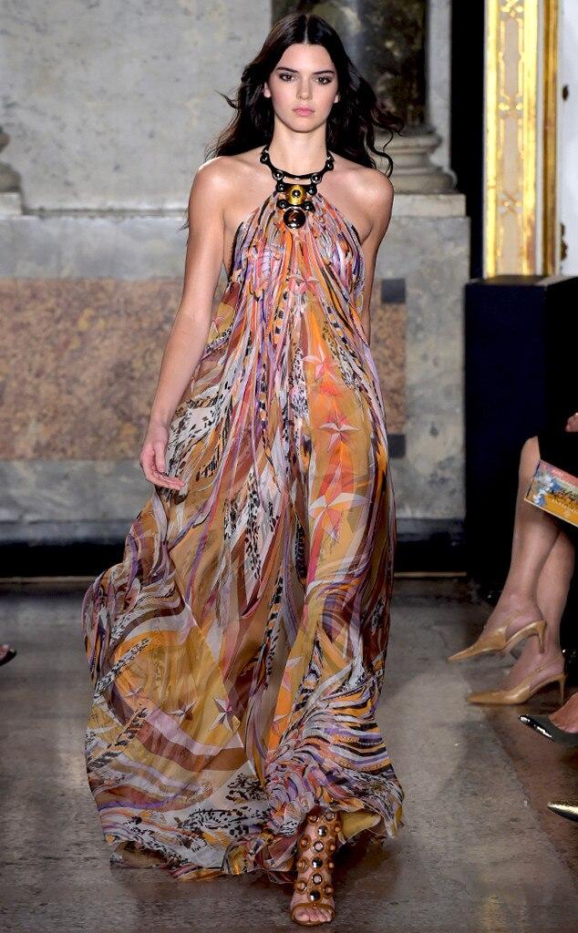 Pucci, Milan Fashion Week, Kendall Jenner