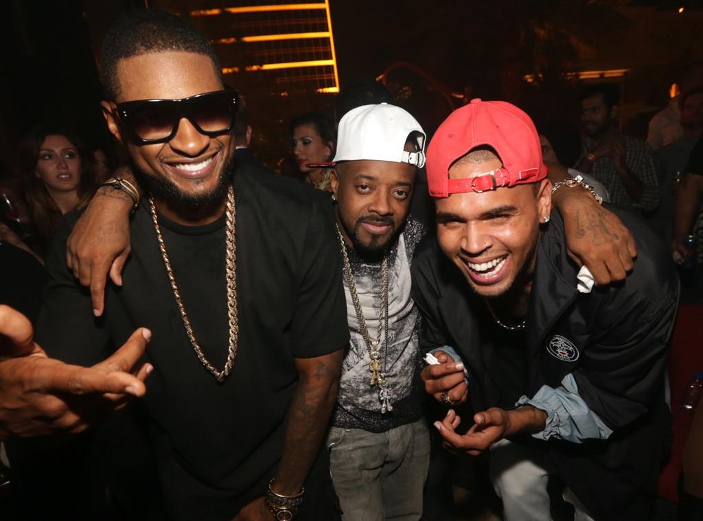 Usher, Chris Brown, Jermaine Dupri