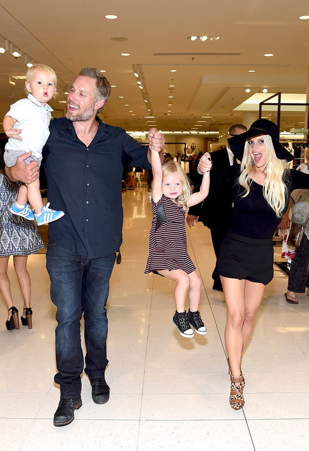 Ace Knute Johnson, Eric Johnson,Jessica Simpson