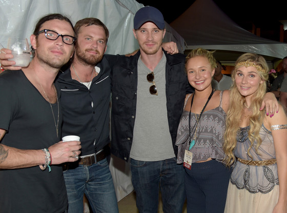Jared Followill, Caleb Followill, Garrett Hedlund, Hayden Panettiere, Clare Bowen