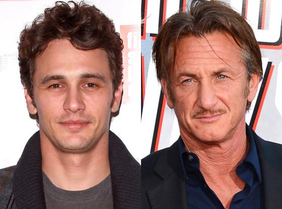 Sean Penn, James Franco